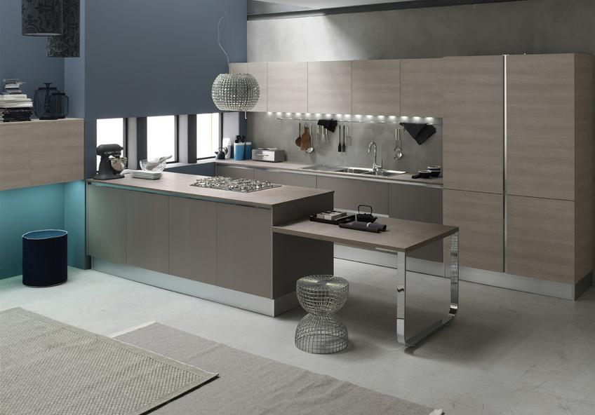 Estremamente cucine moderne color tortora it13 pineglen for Design 2000 mobili